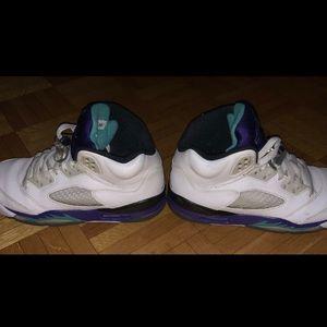 Air Jordan 5 Retro Grapes US6 Womens/ US4.5 Youth